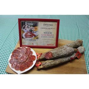 Chorizo Cular Artesano. Cárnicas Arche. (Pack 2 uds). Peso aprox.700 gr.unidad