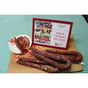 Chorizo Delgado Cárnicas Arche.(Pack 3 uds.) Peso aprox.500 gramos unidad)
