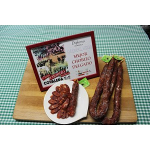 Chorizo Delgado Picante Cárnicas Arche.(Pack 3 uds). Peso aprox.500 gramos unidad
