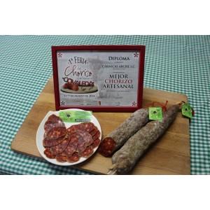 Chorizo Cular Picante Cárnicas Arche (Pack 2 uds). Peso aprox.700 gr.unidad
