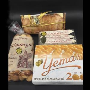 Pack 2 Dulces de Almazán - Yemas, Paciencias, Guirlache y Pastas