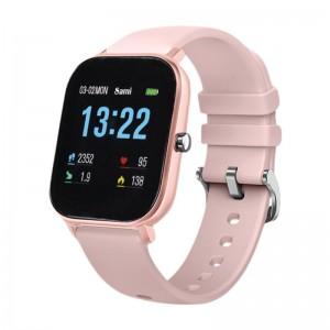 Reloj wearable smartband  rosa palo