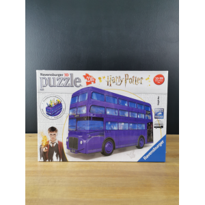 PUZZLE 3D - HARRY POTTER  Autobús Noctámbulo - 216 PIEZAS
