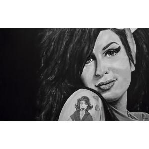 Lámina Decorativa Amy Winehouse