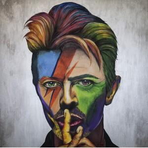 Lámina Decorativa David Bowie