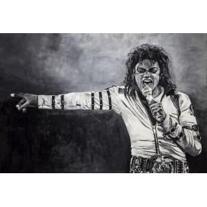Lámina Decorativa Michael Jackson