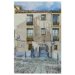 Lámina Decorativa Calle Puertas de Pro, Soria