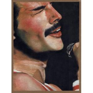 Lámina Decorativa Freddie Mercury