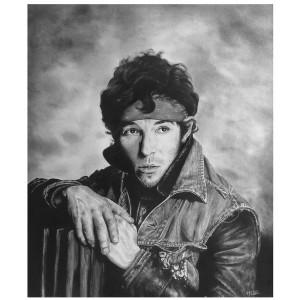 Lámina Decorativa Bruce Springsteen