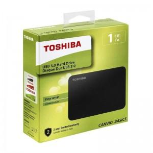 Disco duro Portátil Toshiba Canvio Basics 1Tb
