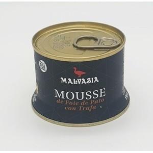 Mousse de pato con trufa Malvasía