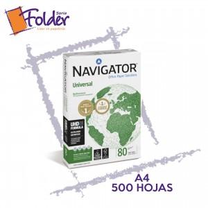 PAQ. FOLIOS NAVIGATOR A4 80g.
