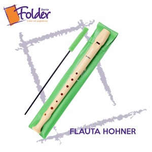 FLAUTA DULCE HOHNER (FUNDA VERDE)