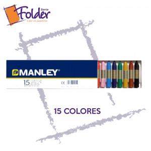 CERAS BLANDAS MANLEY 15 uds.