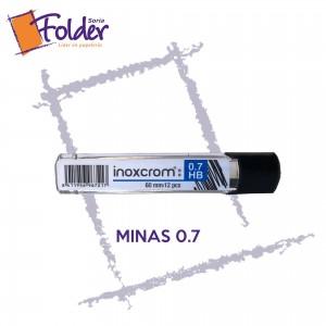 MINAS INOXCROM 0.7 mm.