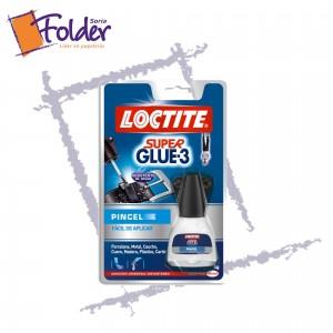 LOCTITE SUPERGLUE-3 PINCEL