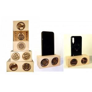 Caja de resonancia para móviles