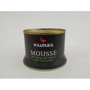Paté Malvasia de Pato con Ciruela 130gr