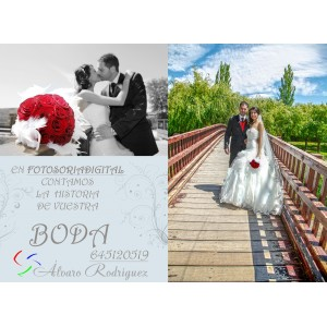 Reportajes fotográficos de boda.