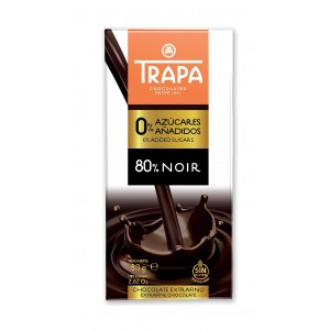 Chocolate Trapa 80% Collection (Pack 6)