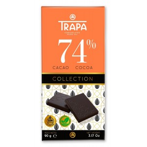 Chocolate Trapa 74% Collection (Pack 6)