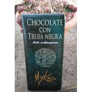 CHOCOLATE CON TRUFA NEGRA*