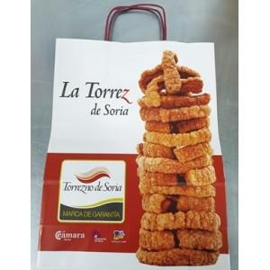 5 Paquetes de torreznos+bolsa GRATIS de la Torrez de Soria