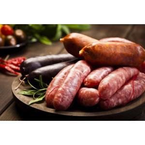 Lote 2 (Picadillo, Chorizo Curado, Chorizo fresco,  Morcilla y Güeña)