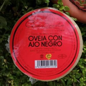 QUESO DE OVEJA CON AJO NEGRO 600g