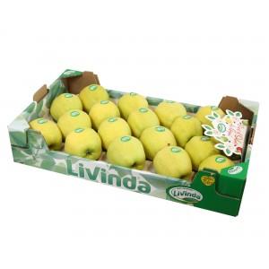 MANZANAS DE SORIA: Caja de Manzanas DE 18 UNIDADES Variedad GOLDEN DELICIUS de Soria 4,5Kg aprox.