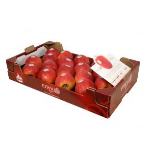 MANZANAS DE SORIA: Caja de Manzanas DE 18 UNIDADES Variedad ENVY (PATENTADA) de Soria 4,5Kg aprox.