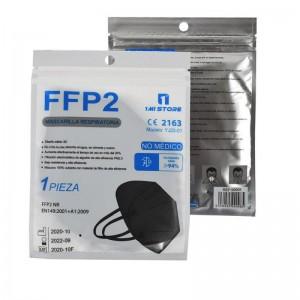 20 Mascarillas FFP2 NEGRA TAMAÑO INFANTIL Mi Store (20PCS) FFP2 NR CE 2163