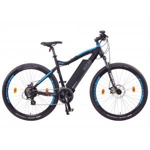 NCM Moscow Plus, negra y azul, E-Bike de montaña 29 Pulgadas