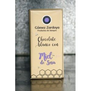 Chocolate blanco con miel