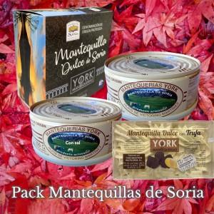 Pack Mantequillas de Soria