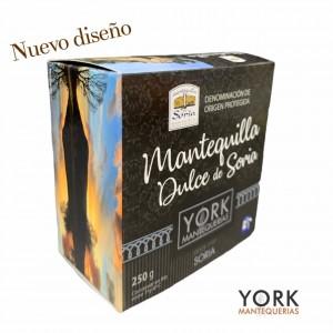 Mantequilla de Soria dulce. Lata 250 gr. D.O.P