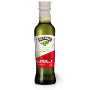 aceite de oliva virgen extra, guindilla URZANTE 250ml