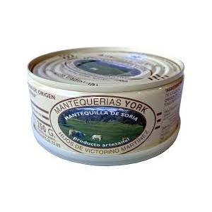 Mantequilla de Soria con sal.  Lata de 250gr.