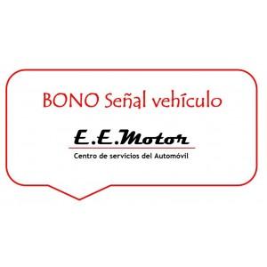 BONO Reserva- Señal  Vehículo